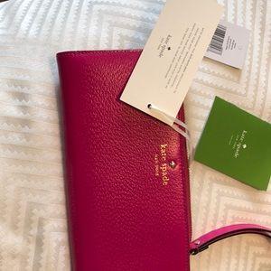 Kate Spade New York new wallet pink